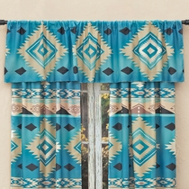 River Frost Lined Valance