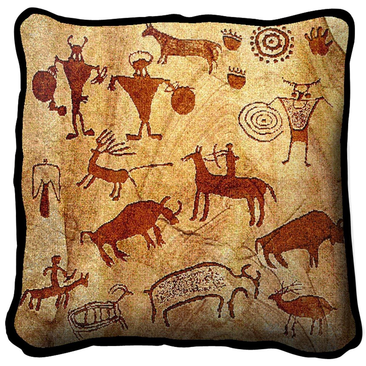 Rock Art of the Ancients Pillow
