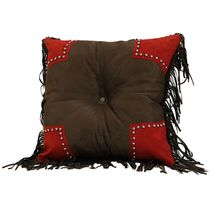 Rock Canyon Tooled Scalloped Pillow