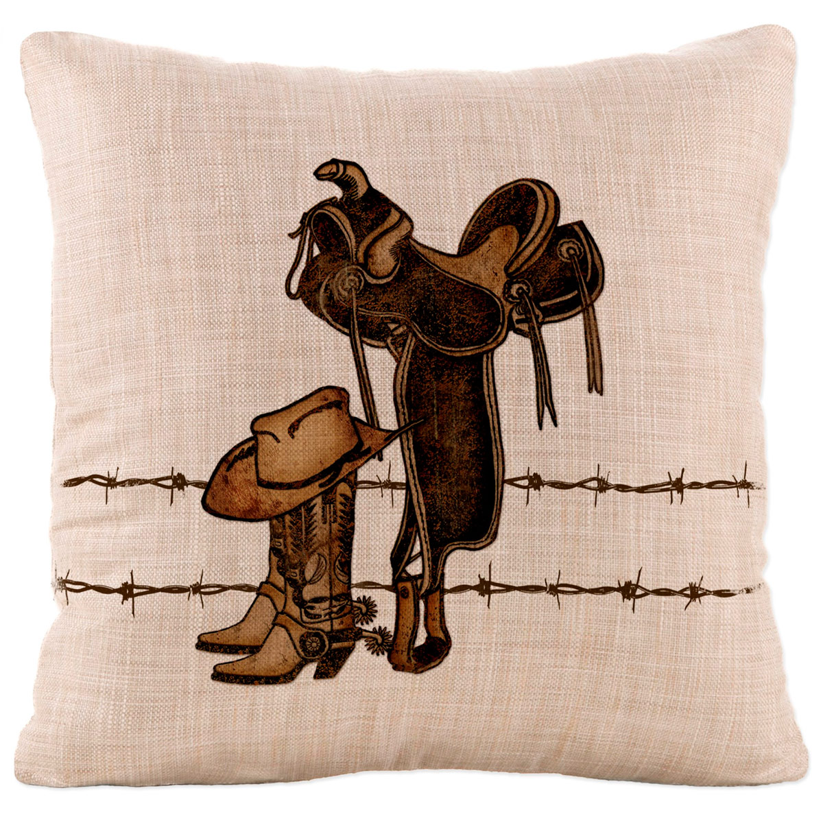 Rodeo Icon Square Pillow