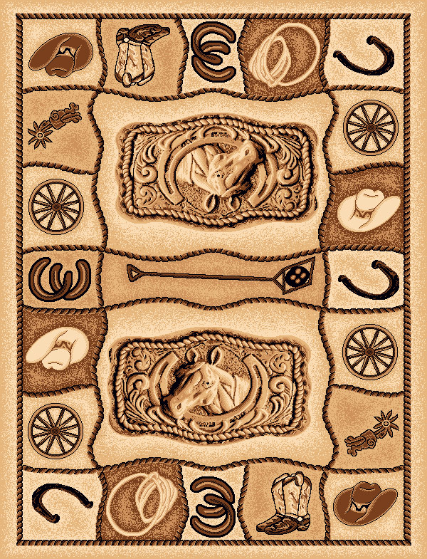 Rodeo Rug - 2 x 7
