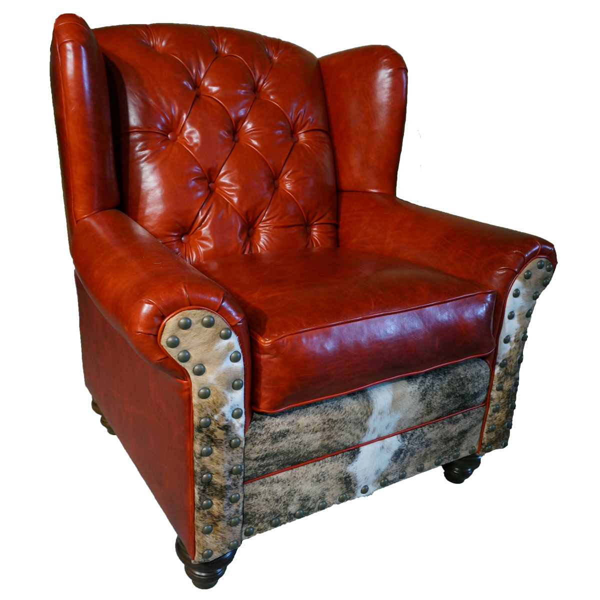 Roja Tufted Oversized Wingback Chair