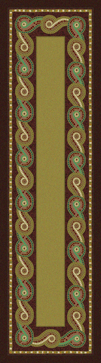 Rolling Water Rug - 2 x 8