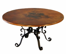 Roman Round Dining Table - 60 Inch