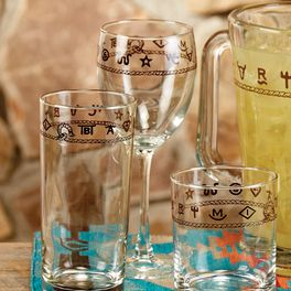 Rope & Brands Wine Glasses - Set of 4