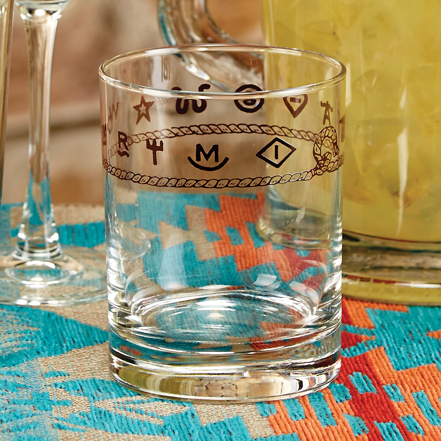 Rope & Brands Double Old Fashioned Glasses - Set of 4 - OUT OF STOCK UNTIL 12/9/2020