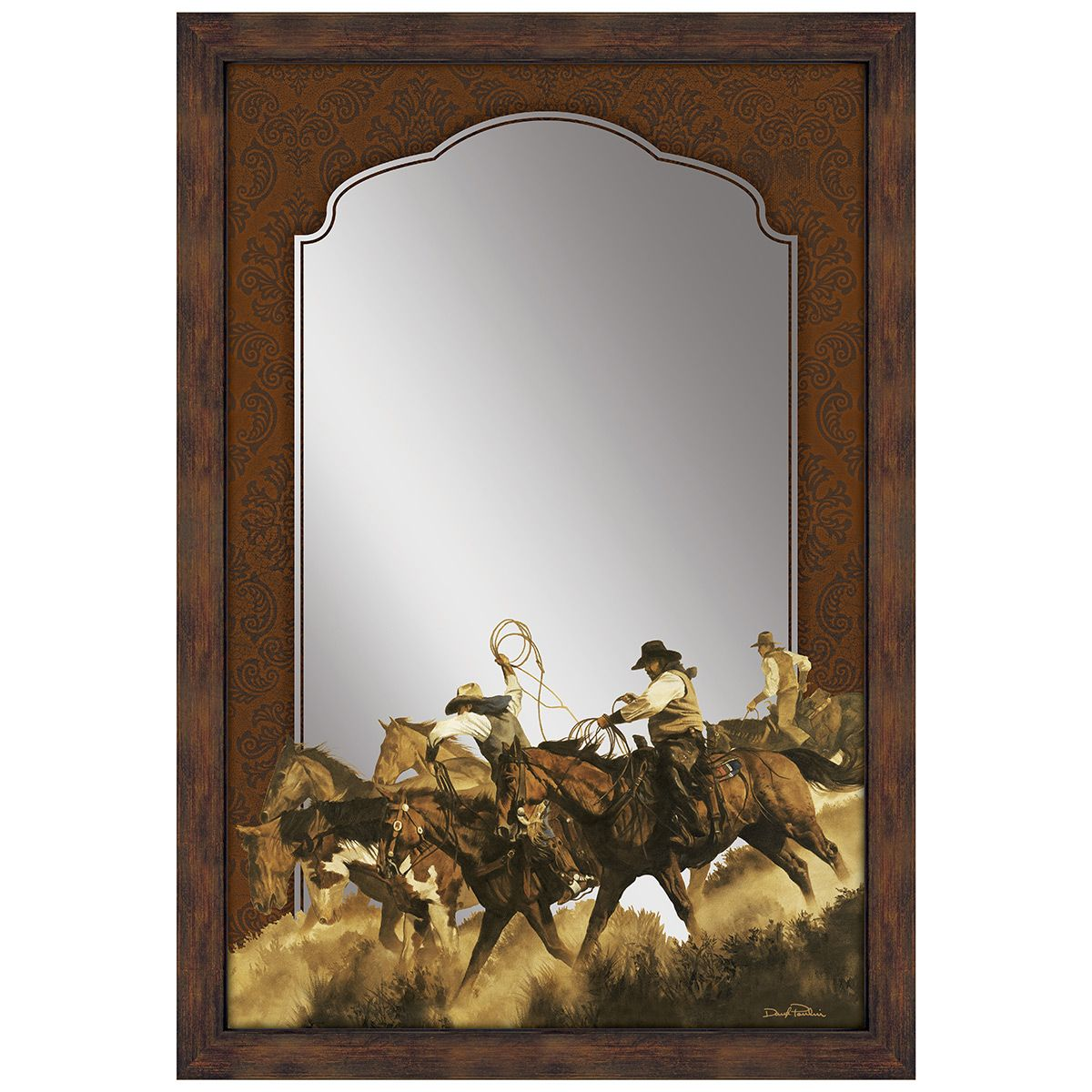 Ropers & Riders Wall Mirror
