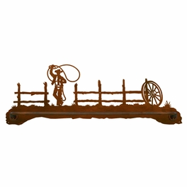 Roping Cowboy Bath Hardware