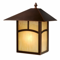 Rounded Mission Outdoor Wall Sconce - Burnished Bronze