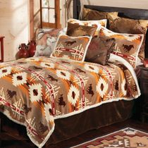 Running Free Horse Bed Set - Queen