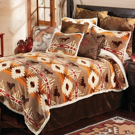 Running Free Horse Plush Bedding Collection