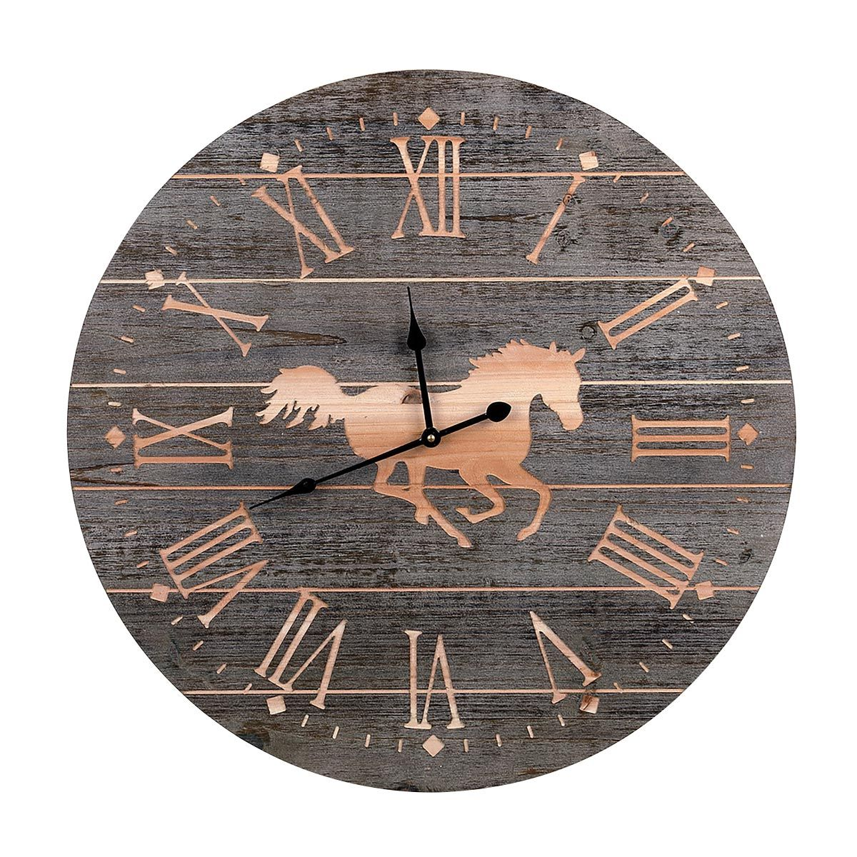 Running Free Horse Wall Clock