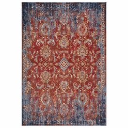 Rust Prominence Rug Collection
