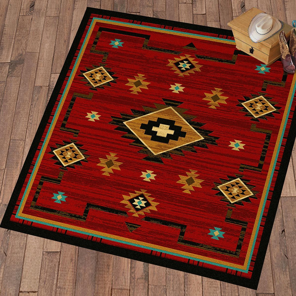 Rusted Dunes Rug - 8 Ft. Square