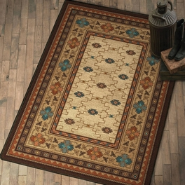 Rustic Elegance Rug Collection