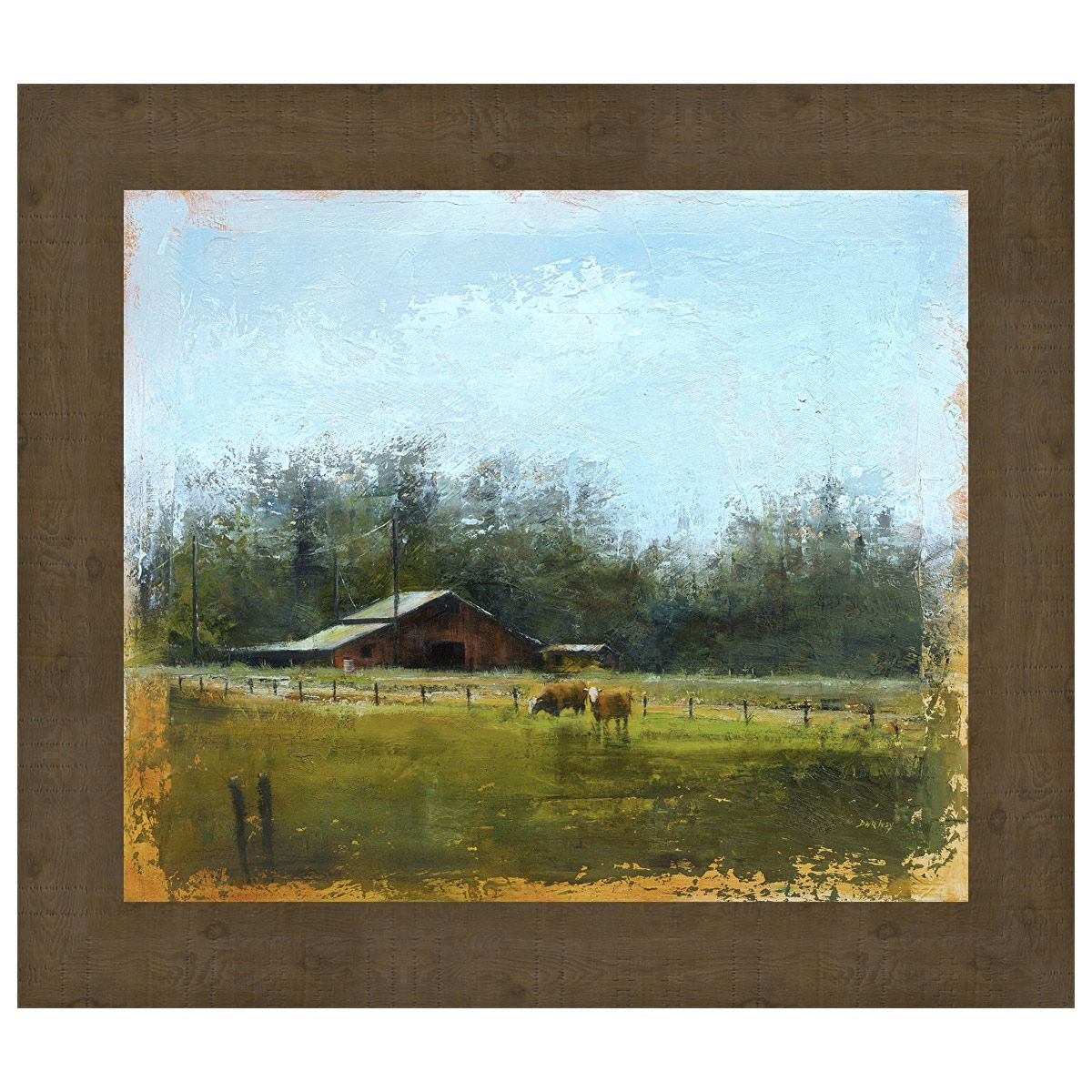 Rustic Farms Wall Art