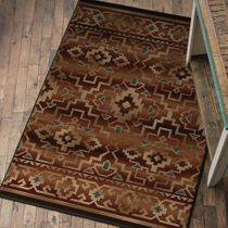 Rustic Home Rug - 8 Ft. Square