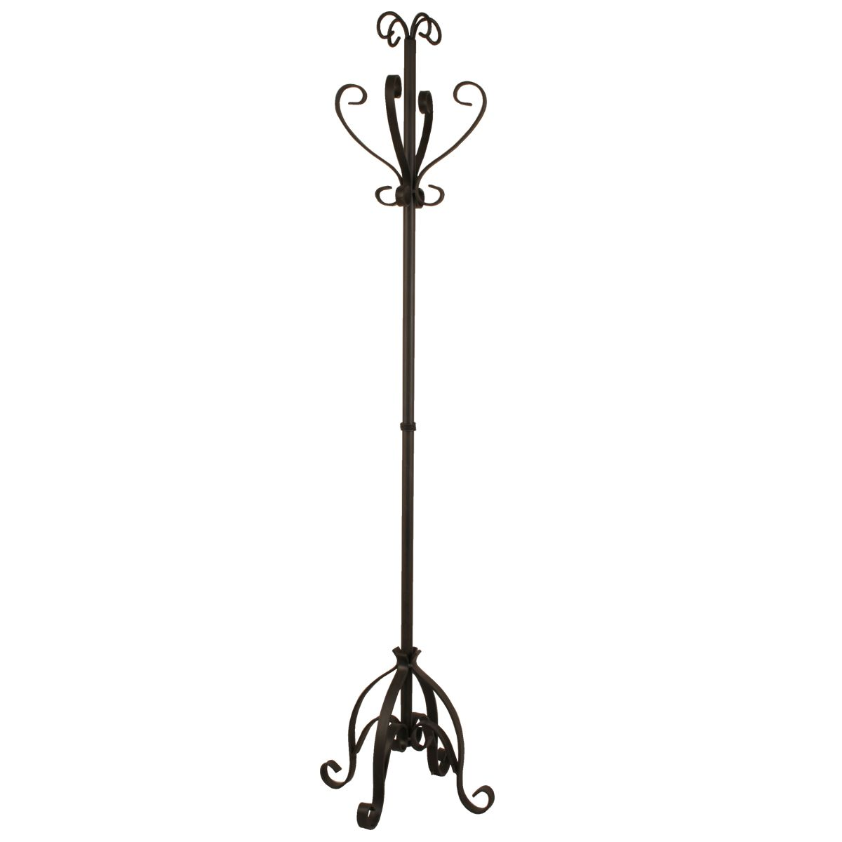 Rustic Iron Coat Rack