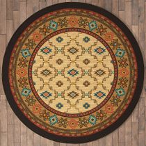 Rustic Reflections Rug - 8 Ft. Round