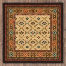 Rustic Reflections Rug - 8 Ft. Square