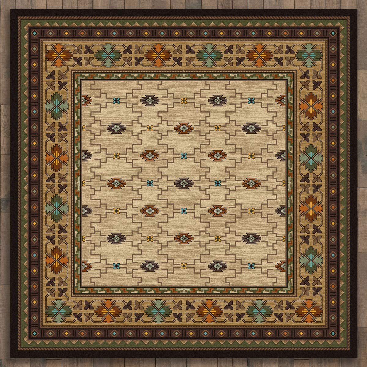Rustic Traditions Rug - 11 Ft. Square