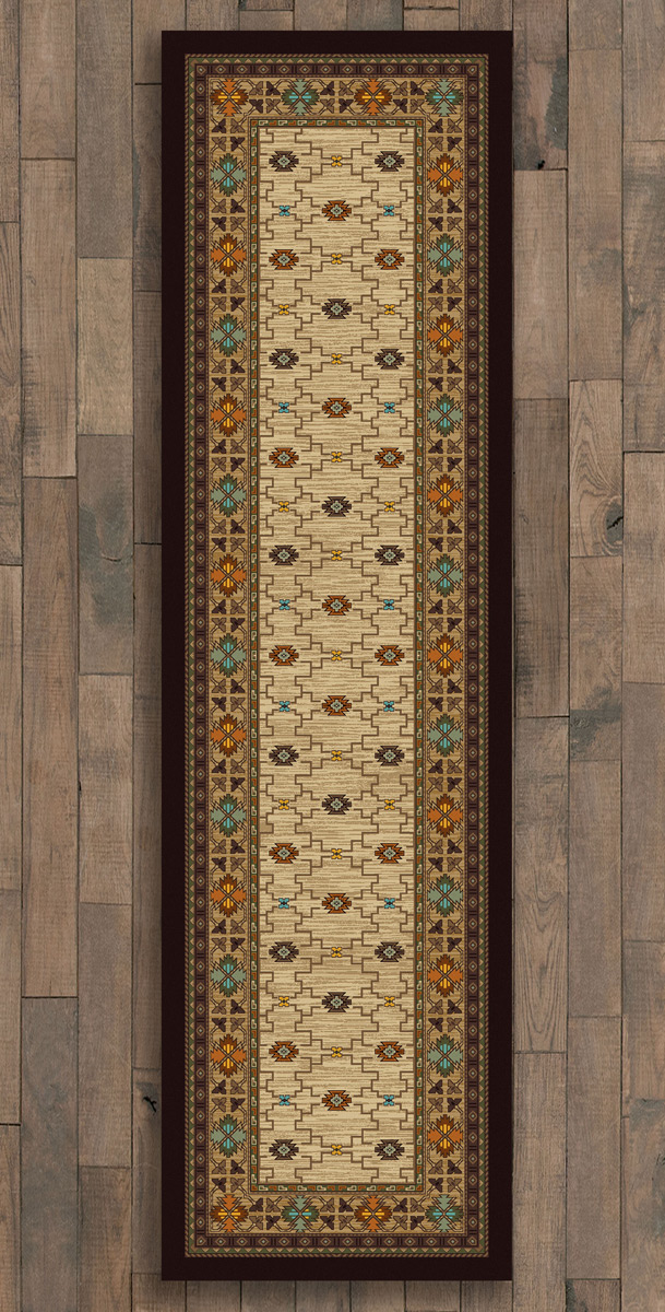 Rustic Traditions Rug - 2 x 8