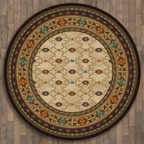 Rustic Traditions Rug - 8 Ft. Round