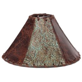 Saddle Collection Lamp Shade - 15 Inch