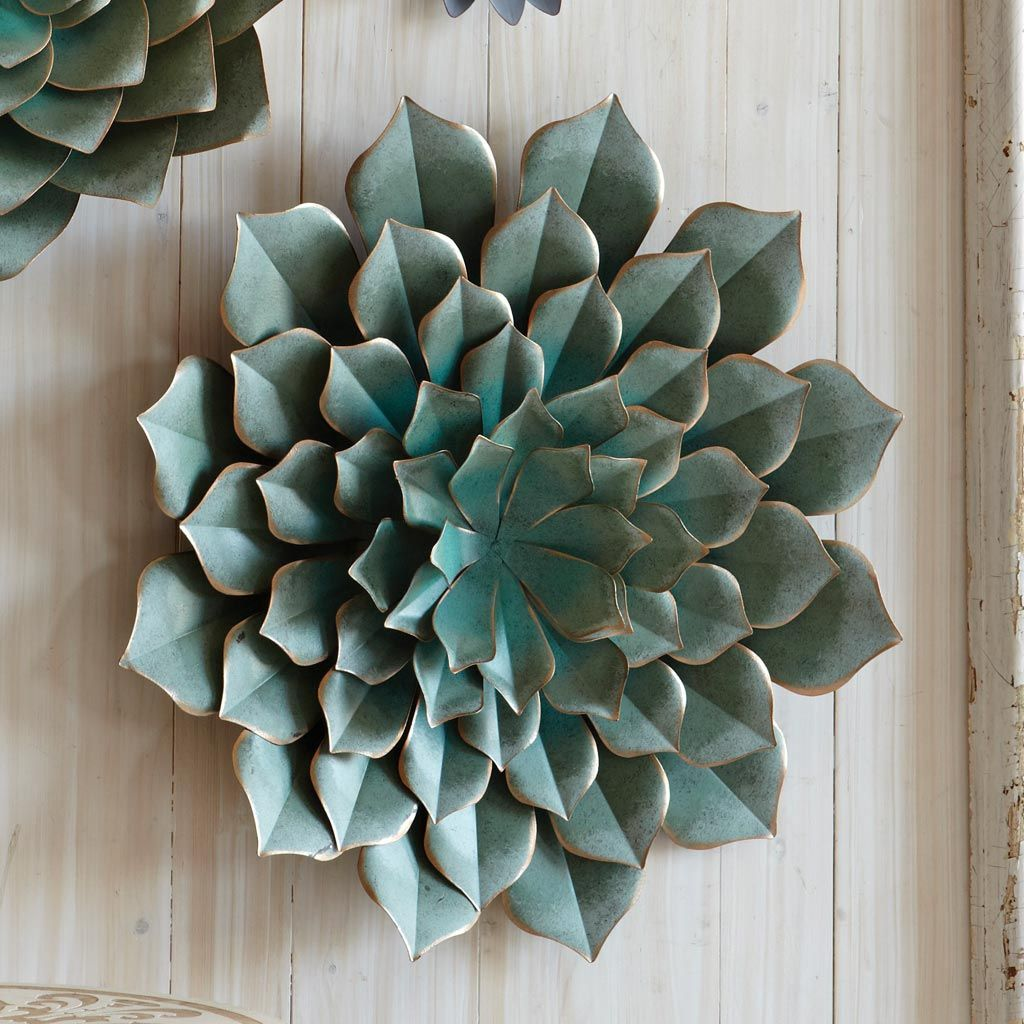 Saddle River Succulent Wall Art - CLEARANCE