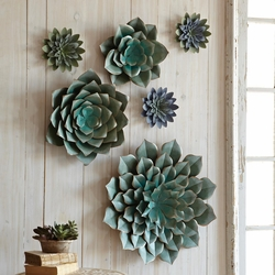 Saddle River Succulent Wall Art