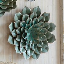 Saddle River Succulent Wall Art - Large