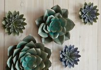 Saddle River Succulent Wall Art - Set of 3
