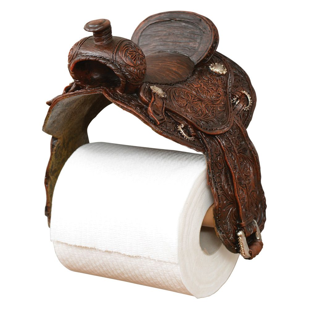 Saddle Toilet Paper Holder