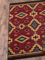 Saddle Valley Rug - 8 Ft. Square