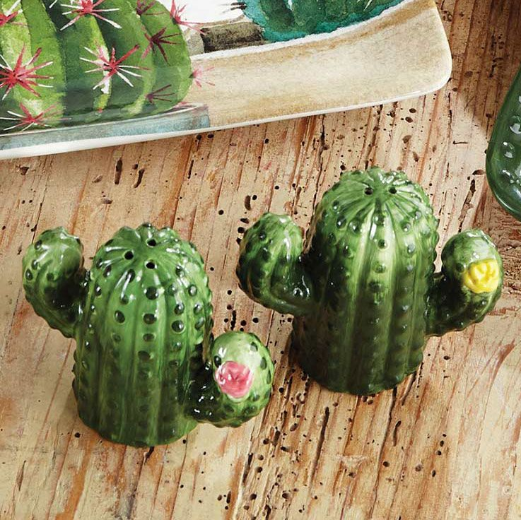 Saguaro Cactus Salt & Pepper Set