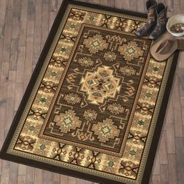 Saguaro Trails Rug - 8 Ft. Round - OVERSTOCK