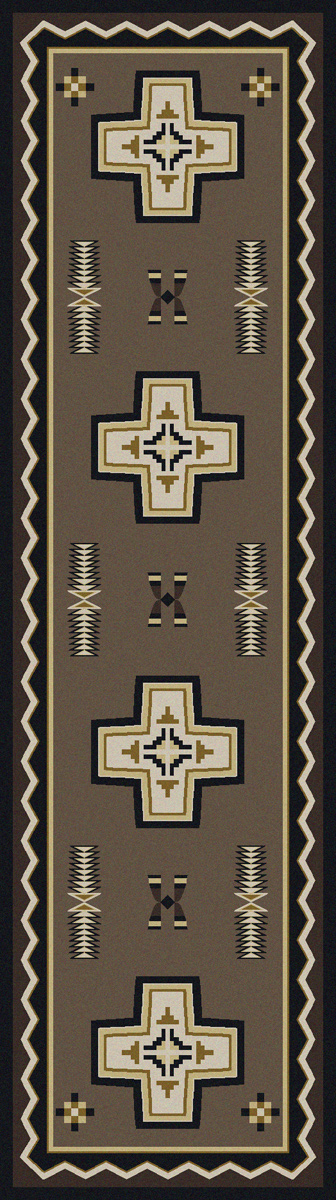 Saint Cross Rug - 2 x 8