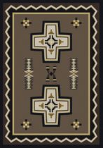 Saint Cross Rug - 4 x 5