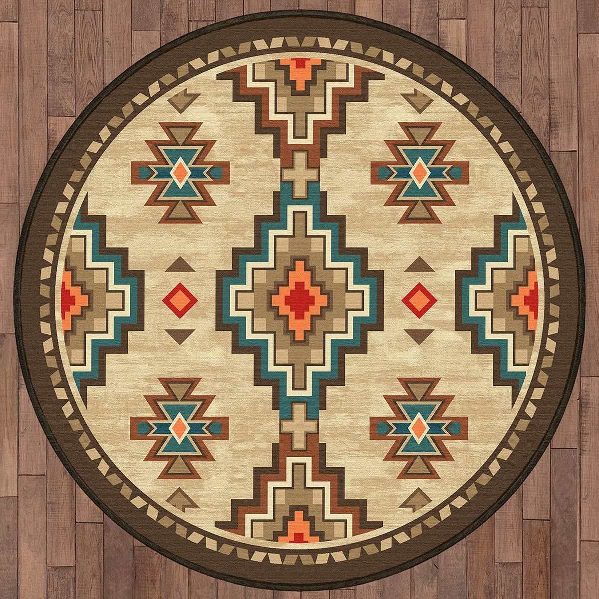 Salado Trails Rug - 8 Ft. Round