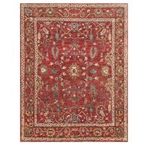 Saloon Red Rug - 6 x 9