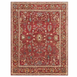 Saloon Red Rug Collection