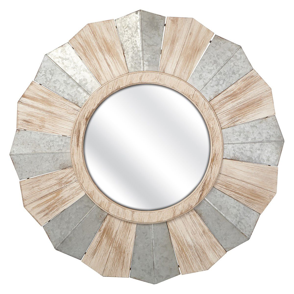 Salt Fork Round Wall Mirror