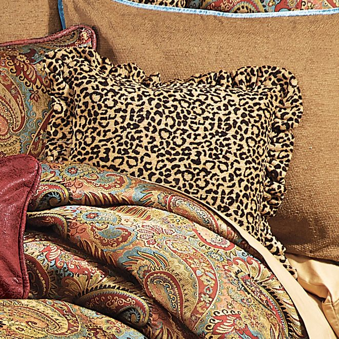 San Angelo Leopard Pillow