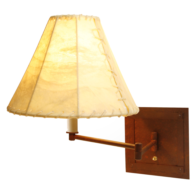 San Carlos Single Swing Arm Wall Lamp