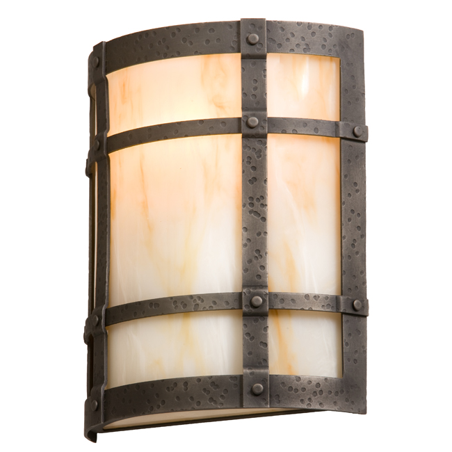 San Carlos Timber Ridge Sconce
