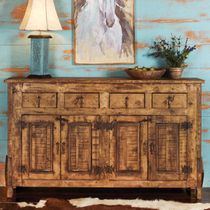San Pedro Reclaimed Wood Buffet - 4 Door