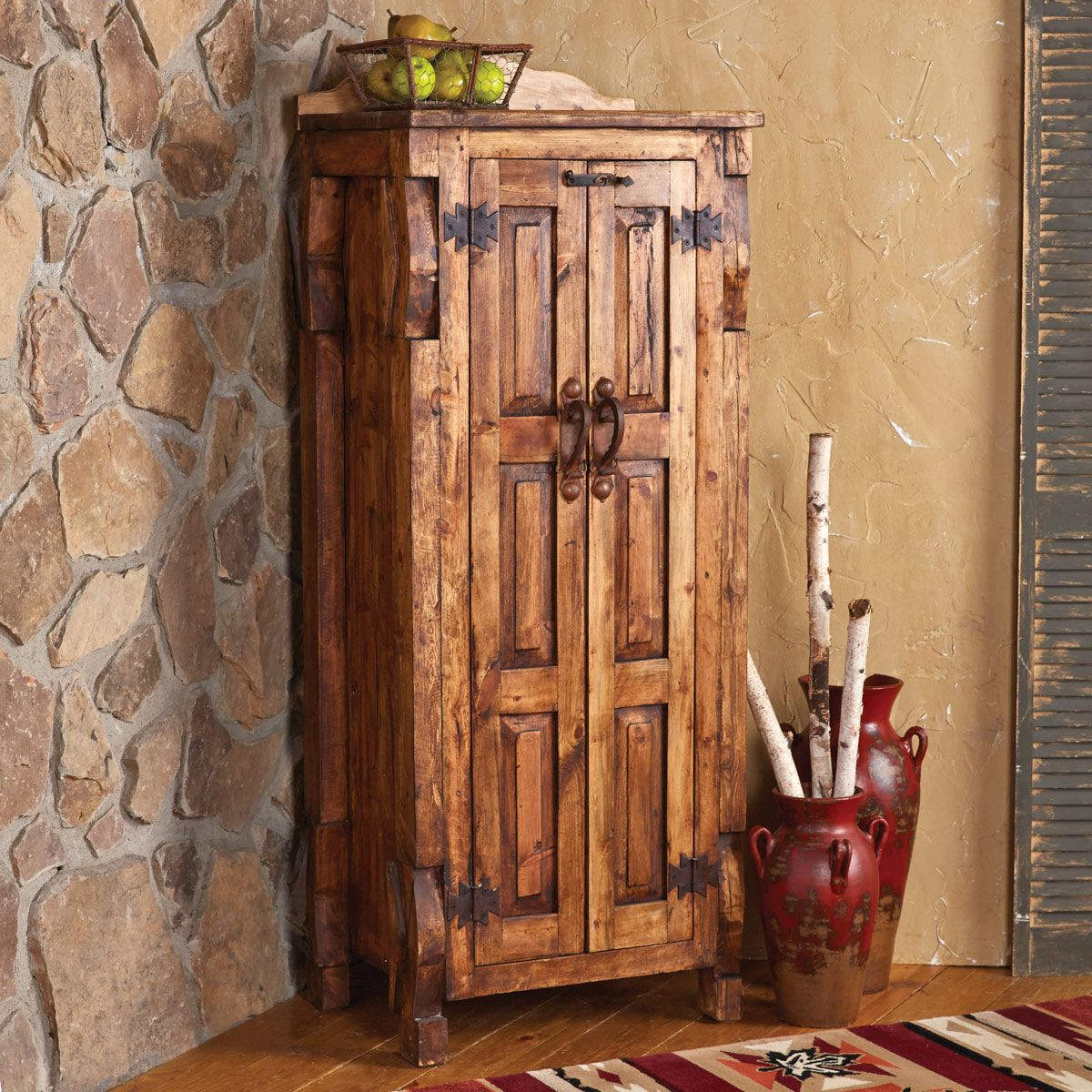 San Pedro Reclaimed Wood Cabinet