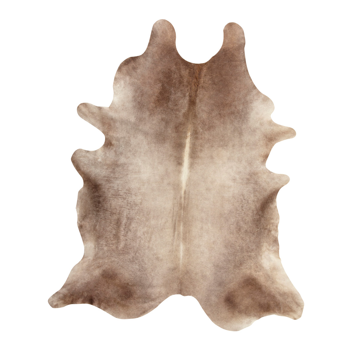 Sand Natural Cowhide Rug - Large