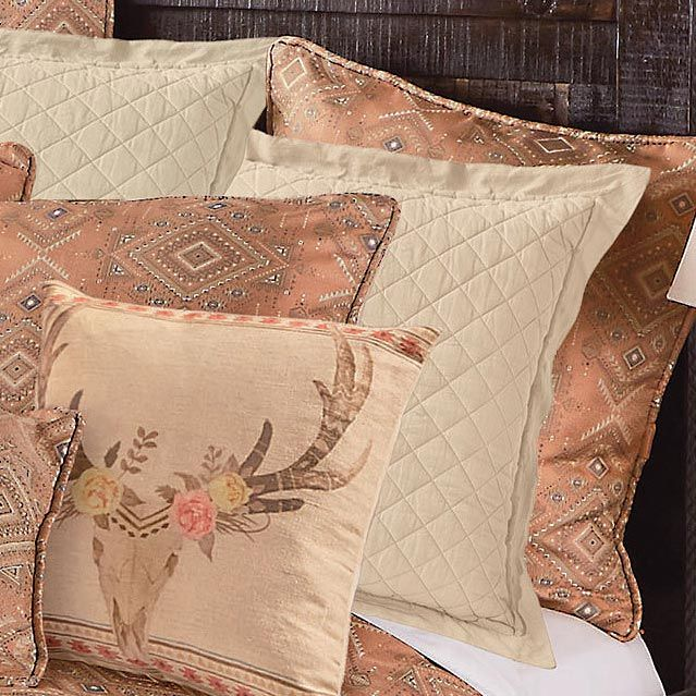 Sand Quilted Euro Sham