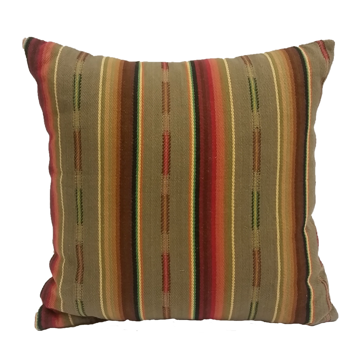 Sand Serape Pillow - 18 x 18